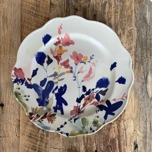 Anthropologie Floral Side Plate